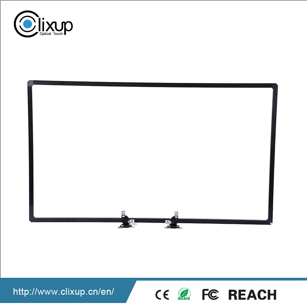 Compact structure Optical Technology smart board Multi Touch Screen panel Overlay Kit Frame