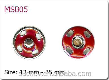Wholesale sew snap button drip buckle for jacket
