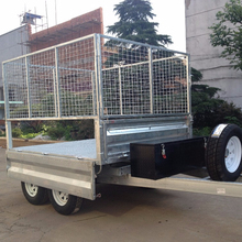 hot sale aluminium tipping trailer with best price