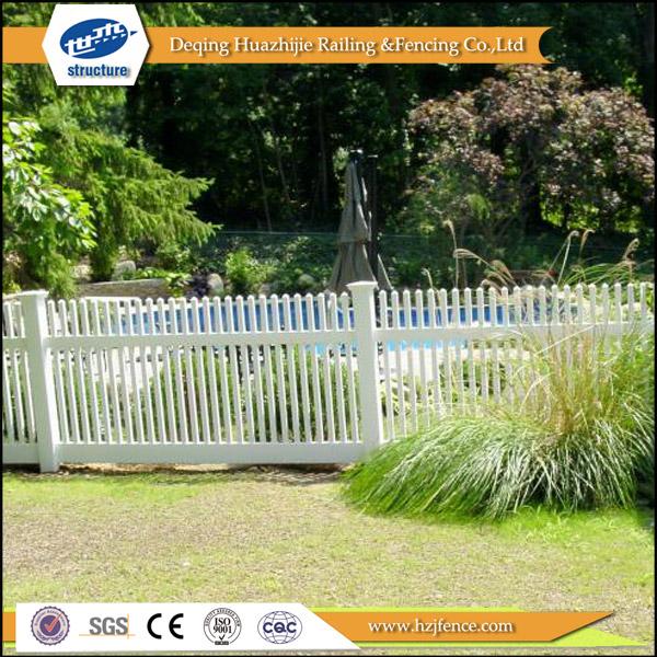 Jardin en plastique vinyle clôture-Clôtures, treillis et portails-ID ...