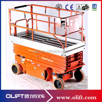 6m Electric Scissor Lift with CE Certificate (JCPT0808HD)