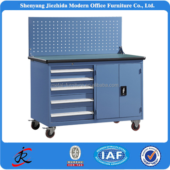 Workshop Garage Tool Trolley Cheap Used Industrial Metal Parts Storage  Cabinets