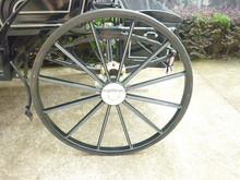 High quality horse carriage wheels for sale, solid wheel pneumatic wheel