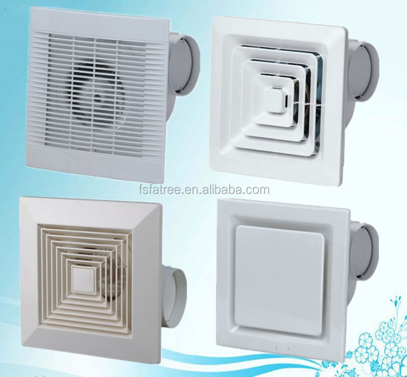 "Bathroom, Office, Home Ceiling Waterproof Exhaust Fan 6"" 8""10"""