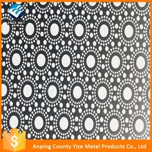 Professional diamond sus 304/316 stainless steel perforated metal mesh rolls
