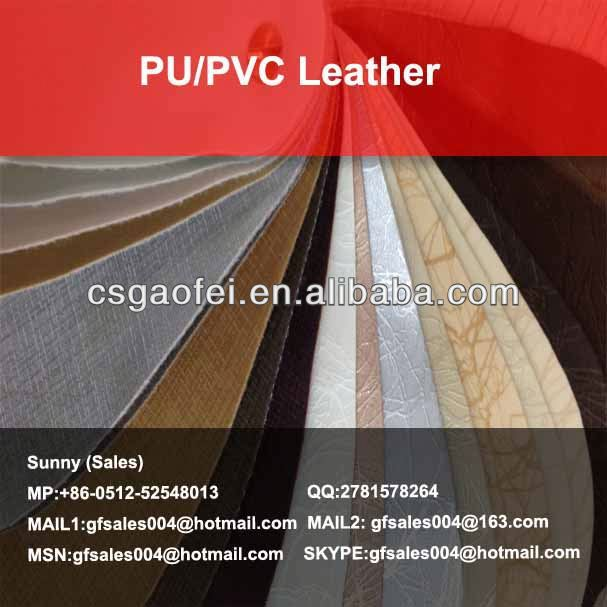 new PU/PVC Leather pvc synthetic leather for sofa upholstery for PU/PVC Leather using
