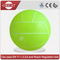 Hot sell printed PVC toy ball/inflatable beach volleyball