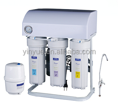 50GPD with dust guard and pressure gauge reverse osmosis water system