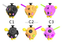 Cool 12 Sides Fidget Ball Cube for Children and Adults Anxiety Attention Toy Relieves Stress And Anxiety for Children and Adults