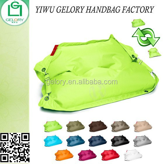 Polyester material waterproof outdoor beanbag chair