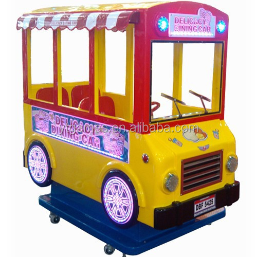 2 colors kids games 3 seatings dinner car kiddie rides
