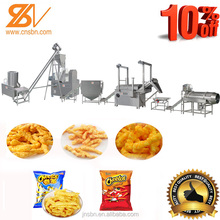 High quality different flavors of kurkure production line/equipment/processing line/plant