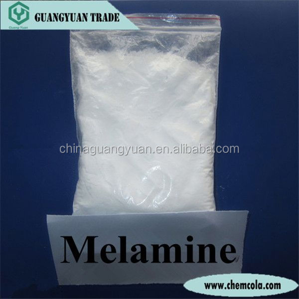 Melamine 98% powder melamine powder 99.8% for melamine dinnerware/tableware/boards/chips