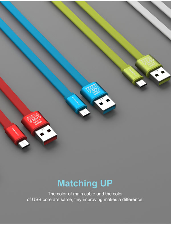 New design portable 1 meters mobile phone micro usb data cable for android
