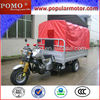 Popular Cheap Gasoline Cargo Chinese Steering Wheel Tricycle
