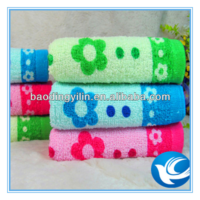 Cheap 100% Cotton Towel Printed Cotton Towel Used For Cleaning Face