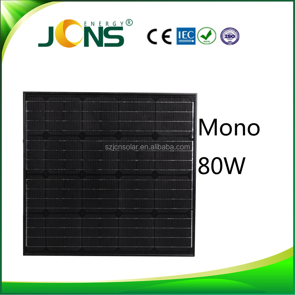 JCN Hot !! Home Solar System Includes Solar Panel/ Inverter/ Controller/battery 80w