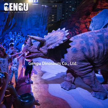Amusement Park Artificial Animatronic Dinosaur Custom Costume