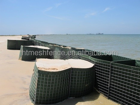 Heavy Galvanized Welded Mesh Gabions Hecso Barrier Hesco Bastion
