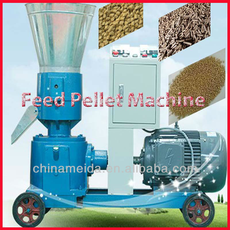 Newest Hot Sale Automatic Chicken/Pig pelletizer machine for animal feeds Low Price High Quality