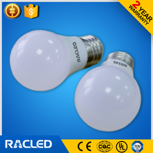 Direct manufacturing price 12w led bulb E27 plastic and glass material
