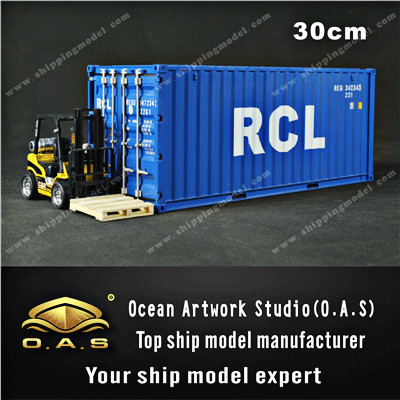 <strong>1</strong>:20 Business gift miniature shipping container scale model RCL 20GP container model