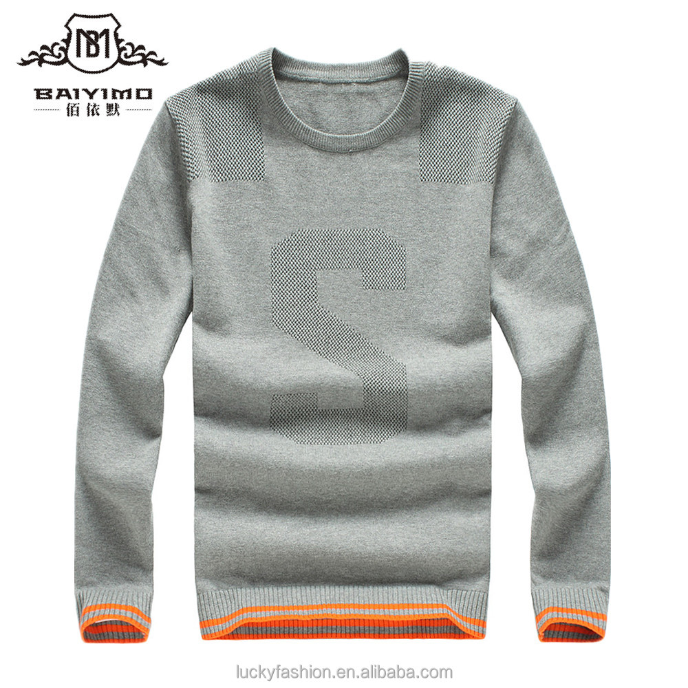 China Factory Fashionable Wool Sweater Design for Boys