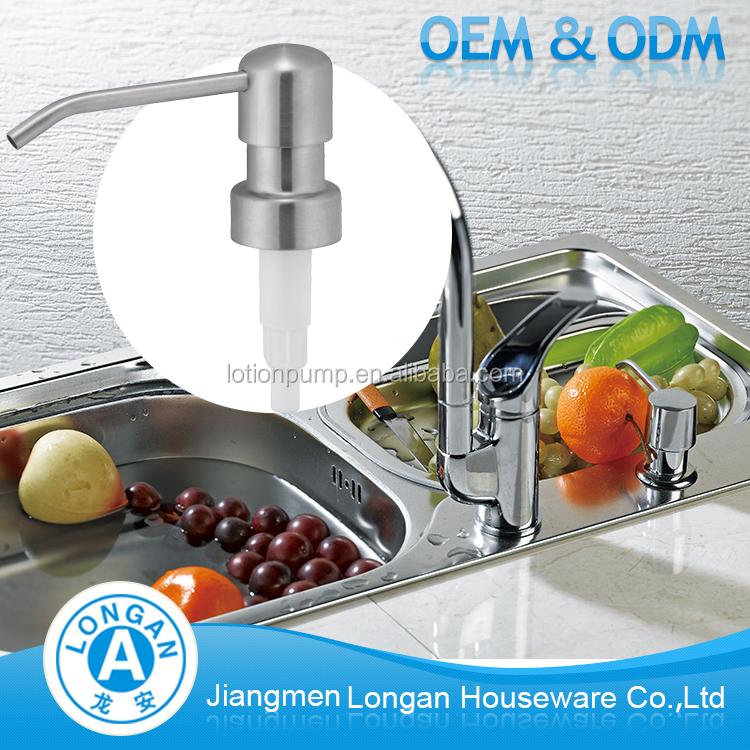 Free sample OEM/ODM available stainless steel 304 24/400 lotion pump dispenser