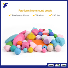 Wholesale Loose Beads For Teething Jewelry Bpa Free Silicone Beads For Baby