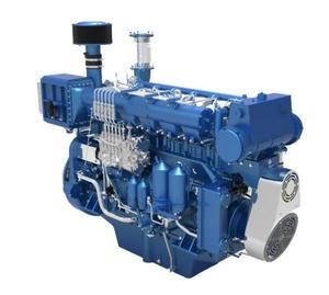 6 cylinders weichai marine diesel engine for fishing boat