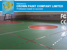 Outdoor Anti Slip Coating Paint for Basketball Flooring