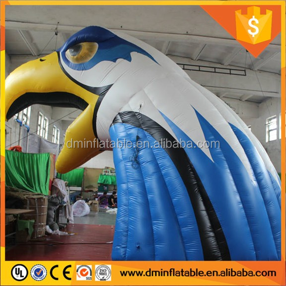 Inflatable Hawk Sports Tunnel Tent for Outdoors Promotion