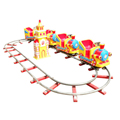 2017 hot sale kids ride on train amusement train railway