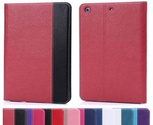 Dual-Fold Protective Case for mini ipad 1 2 Soft Rubber & PU Leather Flip Cover Magnetic Stand Cover for iPad Mini retina