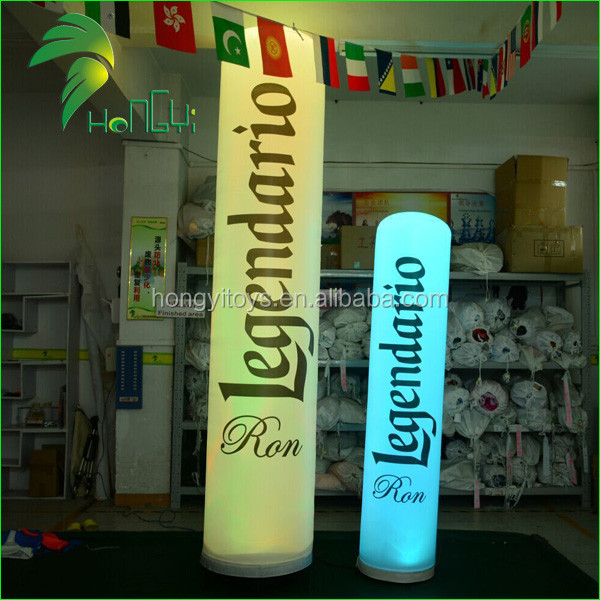 Hongyi Party Decoration Inflatable Cone with LED Light
