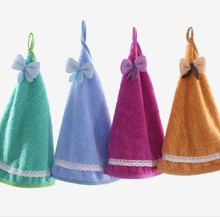 cute lovely soft small baby kids hand towel wholesale