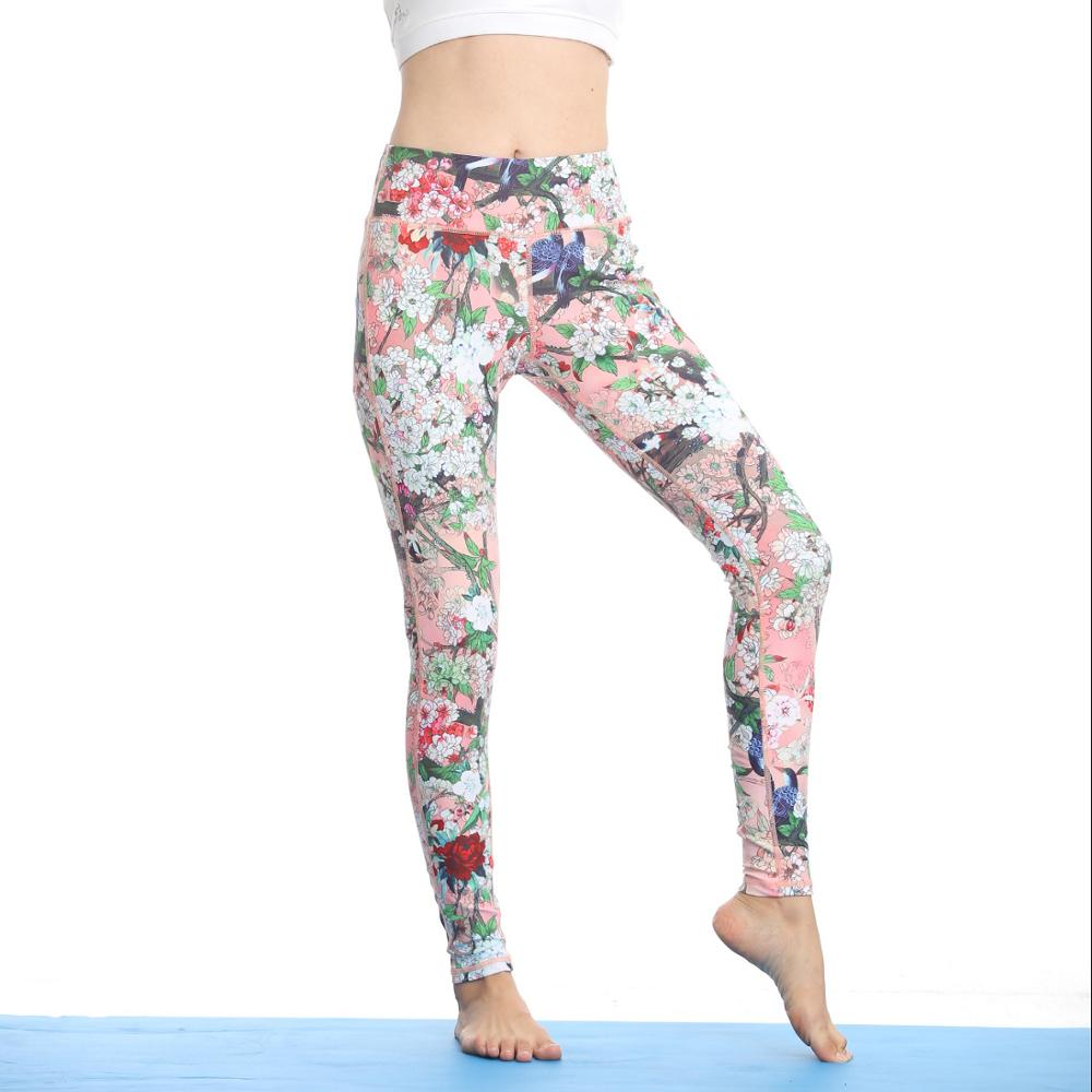 New Design private label pants yoga wear women sport running legging