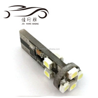 Hot Sale 194 T10 1210 8SMD Canbus Car LED T10 3528 Bulb Width Light 12 Volts 24 Volts