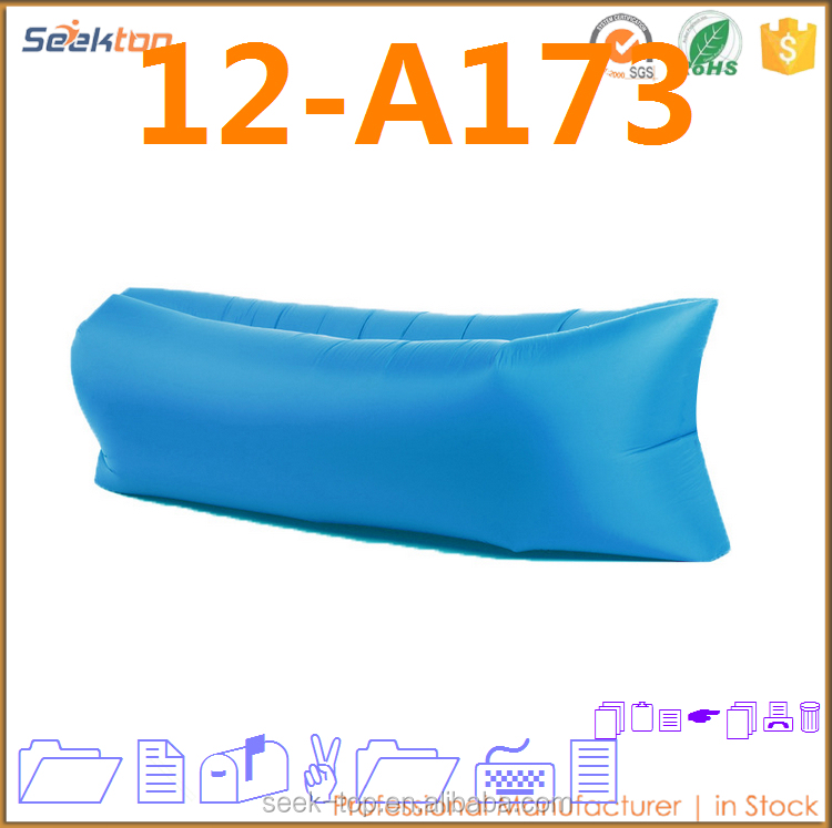 International Dropshipping Free Shipping Lazy Bed Banana Sofa/ Air Chair Inflatable Sun Lounger