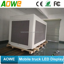 AOWE P6 Outdoor Commercial Mobile Truck LED TV Screen for truck/car/van