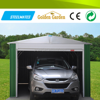 outdoor steel wind resistant canopy