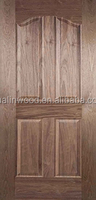 molded door skin, natural black walnut wood veneer door skin