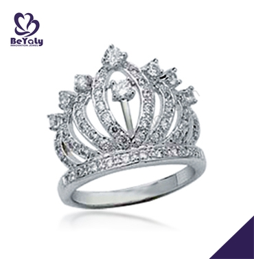 China wholesale costume jewelry king and queen rings