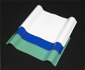 special new style curved fiberglass corrugated roof panel