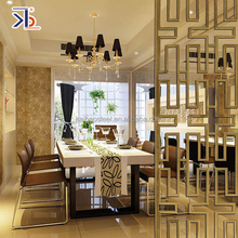 customized 316L stainless steel decorative hotel room divider