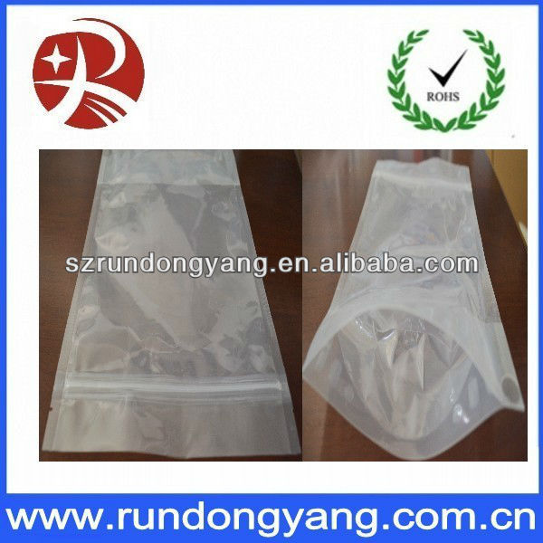 Discount customized stand up packaging bag for sale