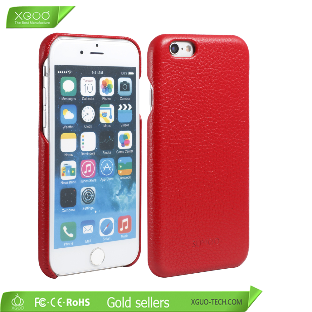 Mobile phone accessory corium mobile phone back cover for iphone6 case
