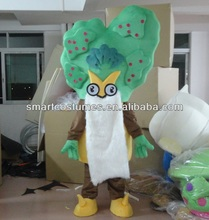 make green palm tree mascot costume adult palm tree costume