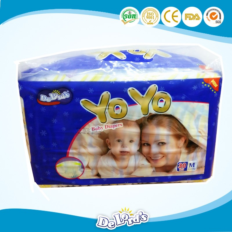 2016 new products cheap factory price/brand name baby diaper