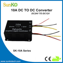 10amp 24vdc to 12vdc converter High Efficiency 12v regulated power supply Good switching power supply design CE Compliant SunKo